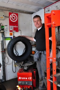 tyre fitting kettering